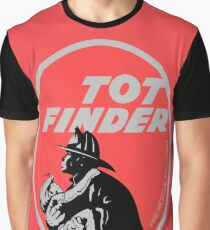 Tot Finder Retro Fire Rescue  Graphic T-Shirt