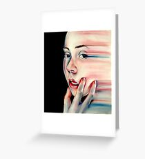 Stretch - Pastel Drawing Greeting Card