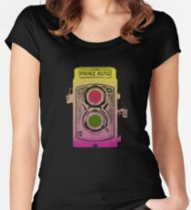 Twin Lens Reflex Women's Fitted Scoop T-Shirt