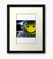 Outerspace Oof Framed Print