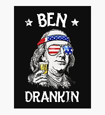 Ben Drankin 4th of July Photographic Print