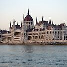 Budapest Parliament by styles