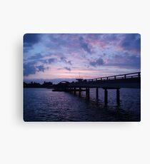 Photo landscape Baltic Sea Canvas Print