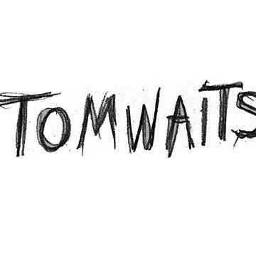 Tom Waits by dmbarnham