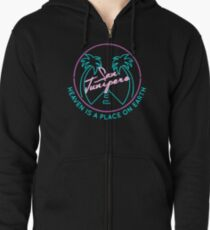 "San Junipero ""Heaven Is a Place on Earth"" Zipped Hoodie"