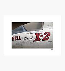 USAF X-2 at the boneyard Photographic Print
