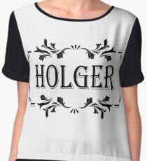 Frame Name Holger Chiffon Top