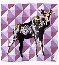 Alaska Moose Poster