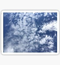 Partly Cloudy Skies - Abraham Lincoln Sticker