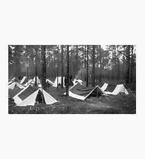 Yankee camp Photographic Print