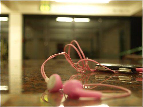 Earphones.. by Amy Barrow