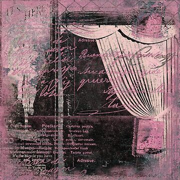 Pinkydoor fabric of Hyndussidart by monka1973