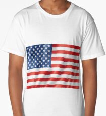 Stars and Stripes Long T-Shirt