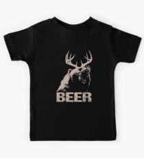 Beer Deer Bear Kids Tee