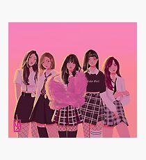 Red Velvet Photographic Print
