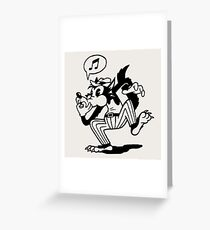 Wolf Whistle Greeting Card