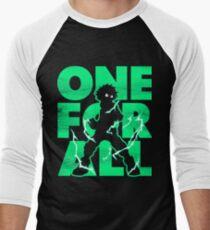 One for all Deku Men's Baseball ¾ T-Shirt