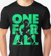 One for all Deku Unisex T-Shirt