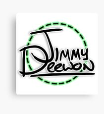 Jimmy Deewon - Dotted Circle Canvas Print