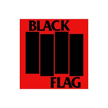 BLACK FlAG LOGO, with changes to color size design. if you remember any songs by 2jDUBCrastions1