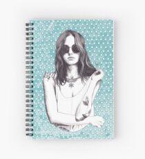 SEASONS BY ELENA GARNU Spiral Notebook