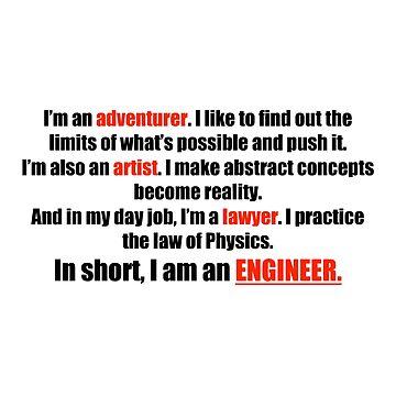I am an ENGINEER by Holneub