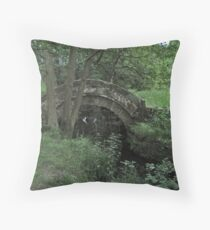 Packhorse Bridge Throw Pillow