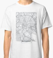 Vector poster city map Bucharest Classic T-Shirt
