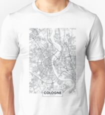 Vector poster city map Cologne Unisex T-Shirt