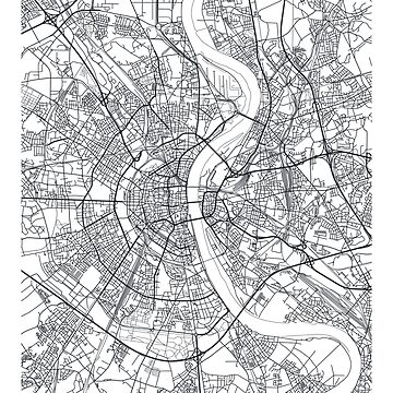 Vector poster city map Cologne by maximgertsen