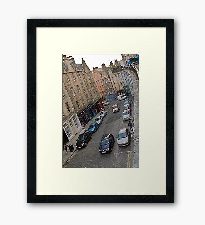 Victoria Street - Edinburgh Framed Print