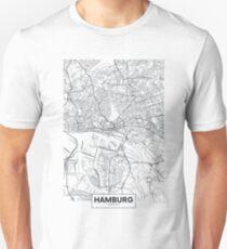 Vector poster city map Hamburg Unisex T-Shirt