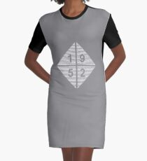 Birthday Born in 1952 Graphic T-Shirt Dress