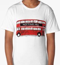 Retro Bus from Notting Hill Long T-Shirt