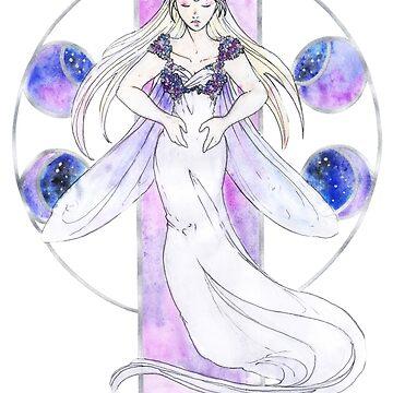 Queen Serenity by NenrilTf