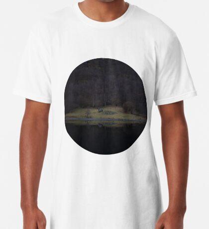 Violette Insel (Fjorde) Longshirt