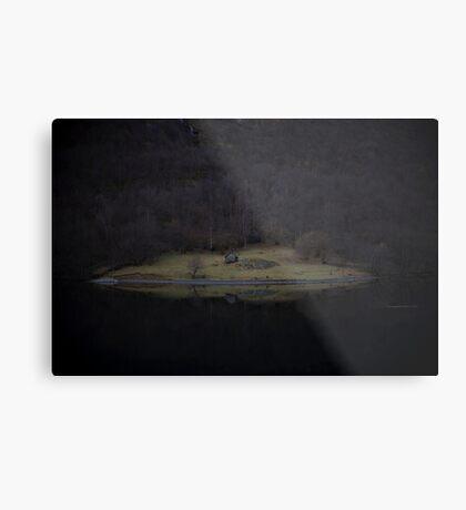 Violette Insel (Fjorde) Metallbild