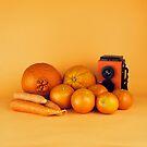 Stillleben der orange Karotten von josemanuelerre