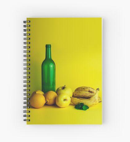 Zitronen-Limonenstillleben Spiralblock