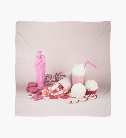 Süßes rosa Schicksalleben noch Tuch