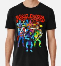 König Gizzard Masters Männer Premium T-Shirts
