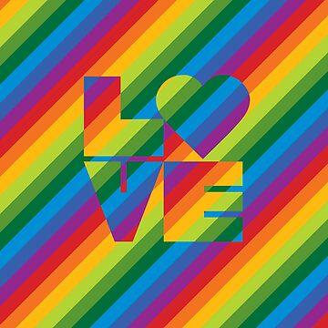 Rainbow Love by Lisann
