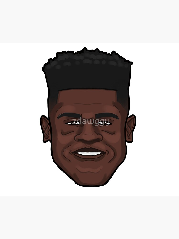Mo Bamba Portrait by zdawggy