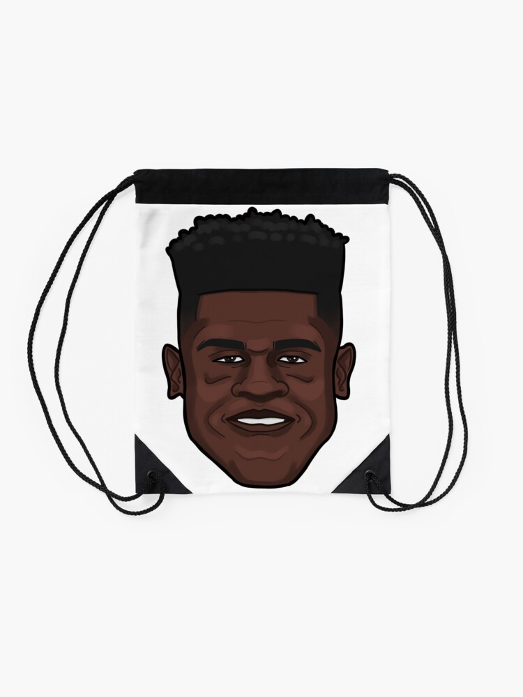 Alternate view of Mo Bamba Portrait Drawstring Bag
