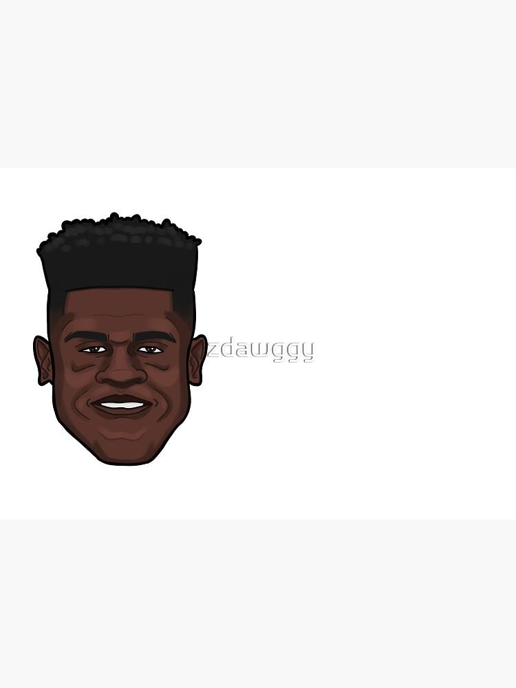 Mo Bamba Portrait by zdawggy