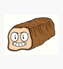 Anger Bread Art Print