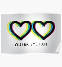 Queer Eye Fan Logo Poster