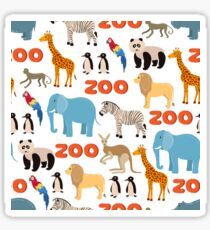 Zoo Animals Sticker