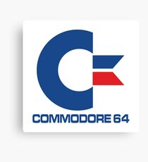 Commodore 64 Logo Canvas Print