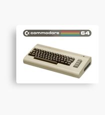 Commodore 64  Metal Print